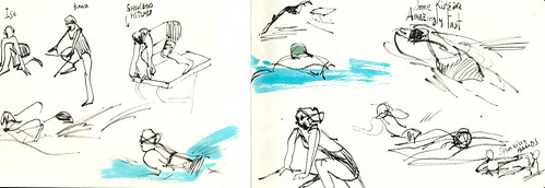 Sketchbook #91: Swimming!