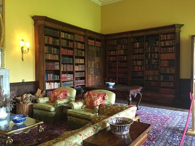 Hampton Court library