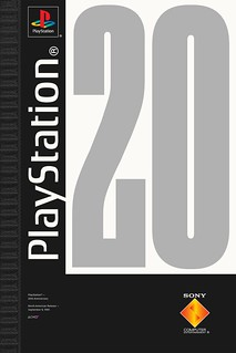 PlayStation 20th Anniversary Posters by Cory Schmitz