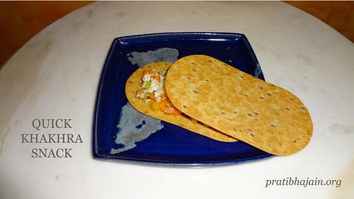 Quick Khakhra Snack