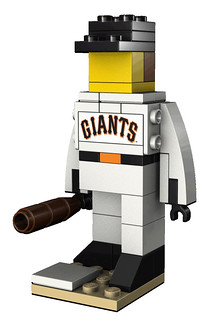 LEGO San Francisco Giants Baseball Player Set