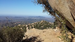 Mount Woodson Trail in Poway, California.