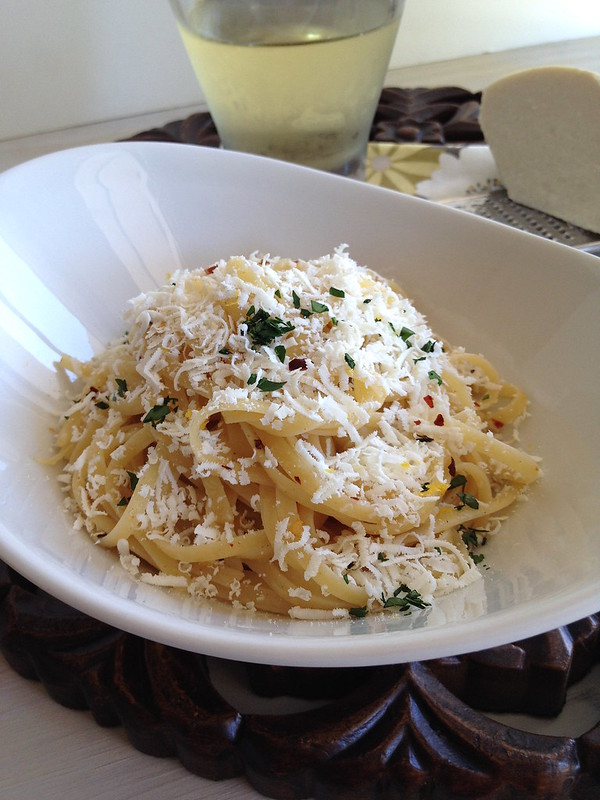 Browned Butter Linguine with Mizithra