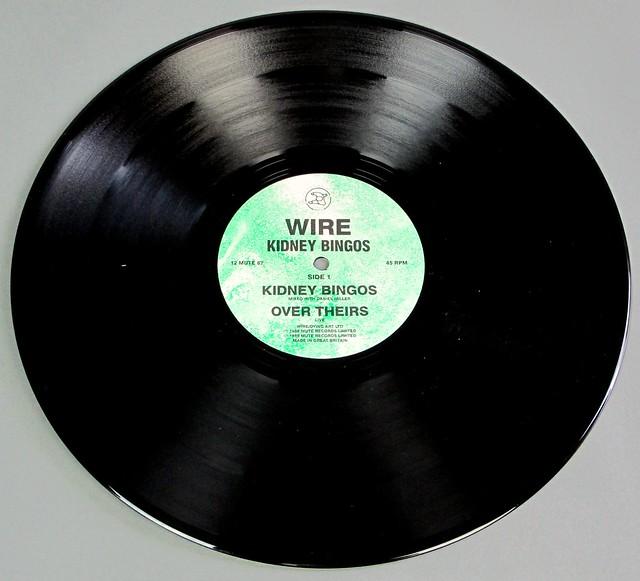 """WIRE KIDNEY BINGOS 12"""" EP MINI-LP VINYL"""