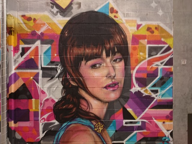 Street Art part 2 - rue de la Wache (Liège 2015)