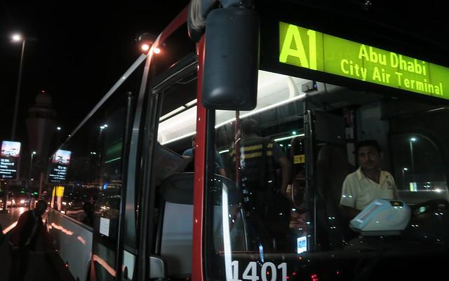 a1 airport bus abu dhabi