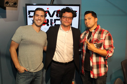 Narcos star Wagner Moura on the Covino & Rich Show