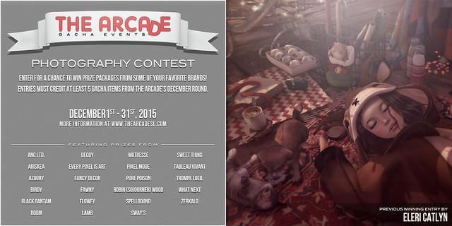 The Arcade Photography Contest - December, 2015