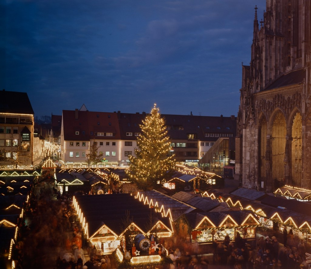 Christmas market in Ulm, Germany. Credit Christopher
