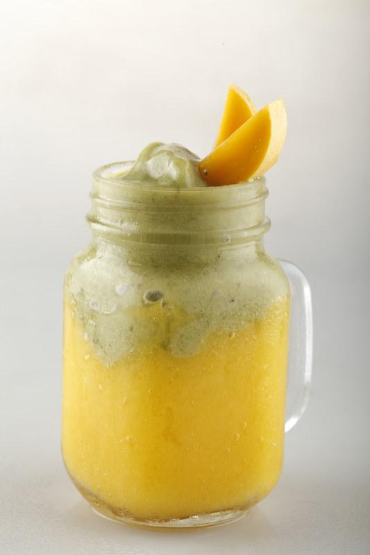 Avocado-Mango Combo Shake