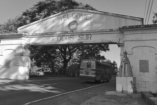 Ilocos Sur - Welcome sign