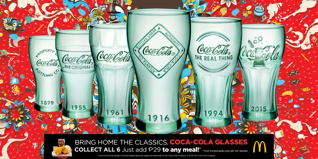 Coca-Cola Glasses with Mechanics