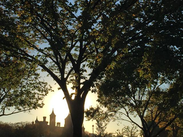 Sunset castles