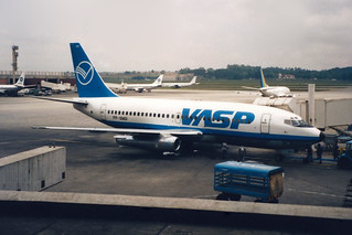 VASP Boeing 737-2A1/Adv PP-SMU