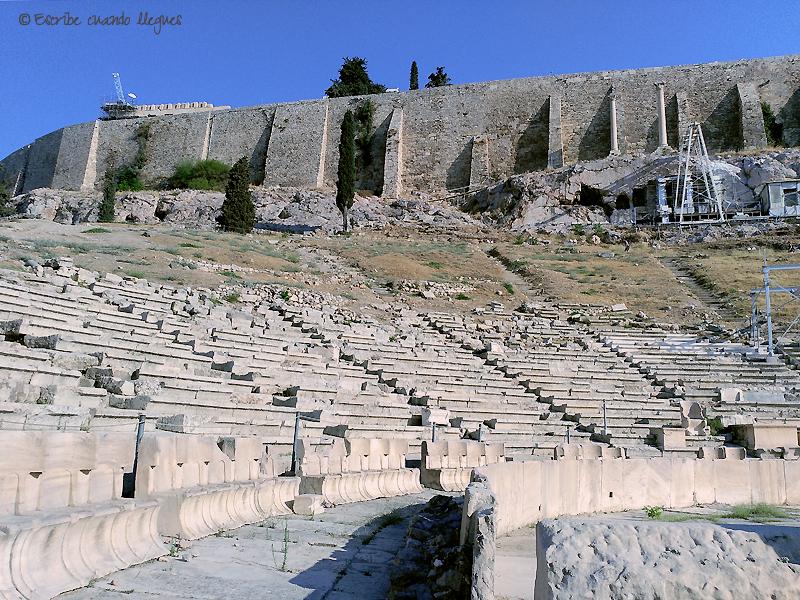 Graderío del Teatro de Dionisio
