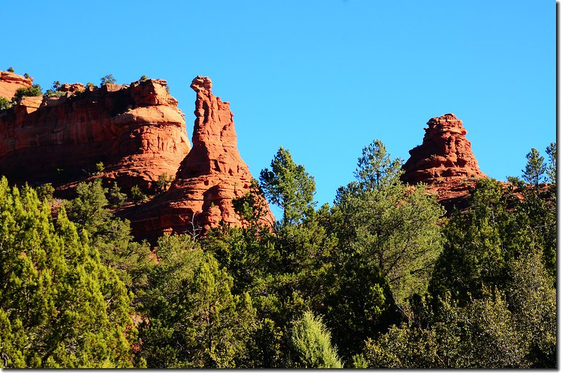 The Red Rocks are taken from the Boynton Pass Road 6