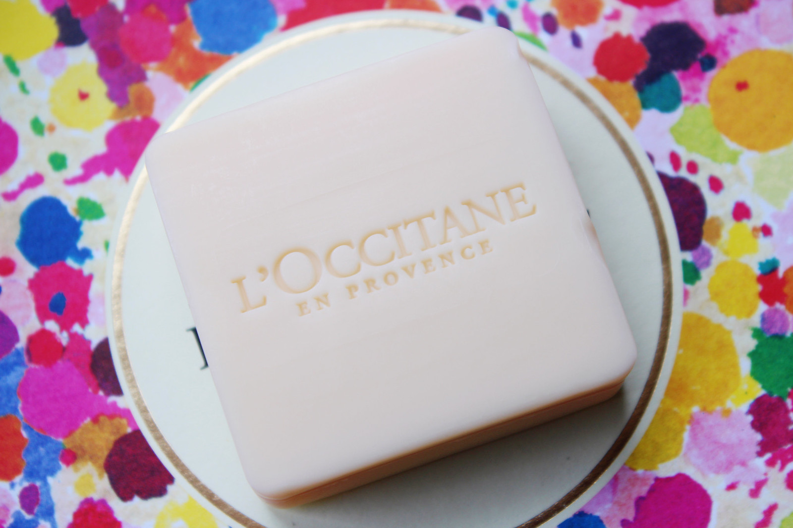 Loccitane rhubarb soap review