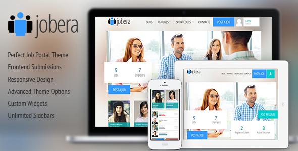 ThemeForest Jobera v3.0 - Job Portal WordPress Theme