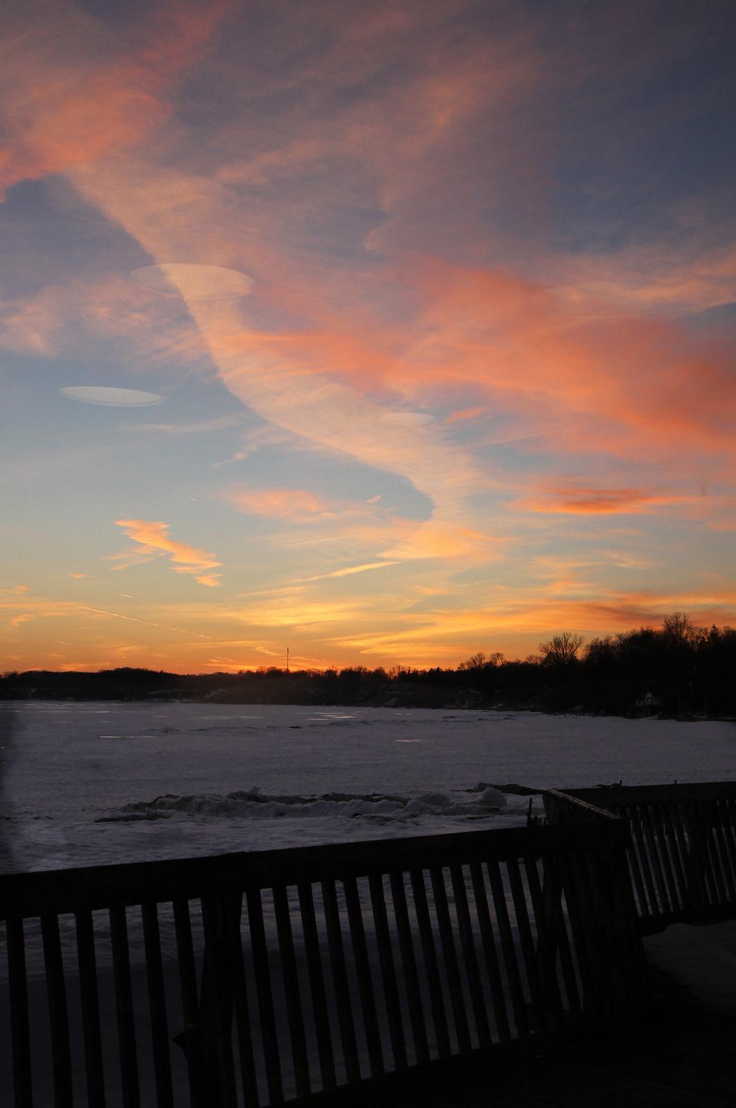 PD Callahans sunset sky