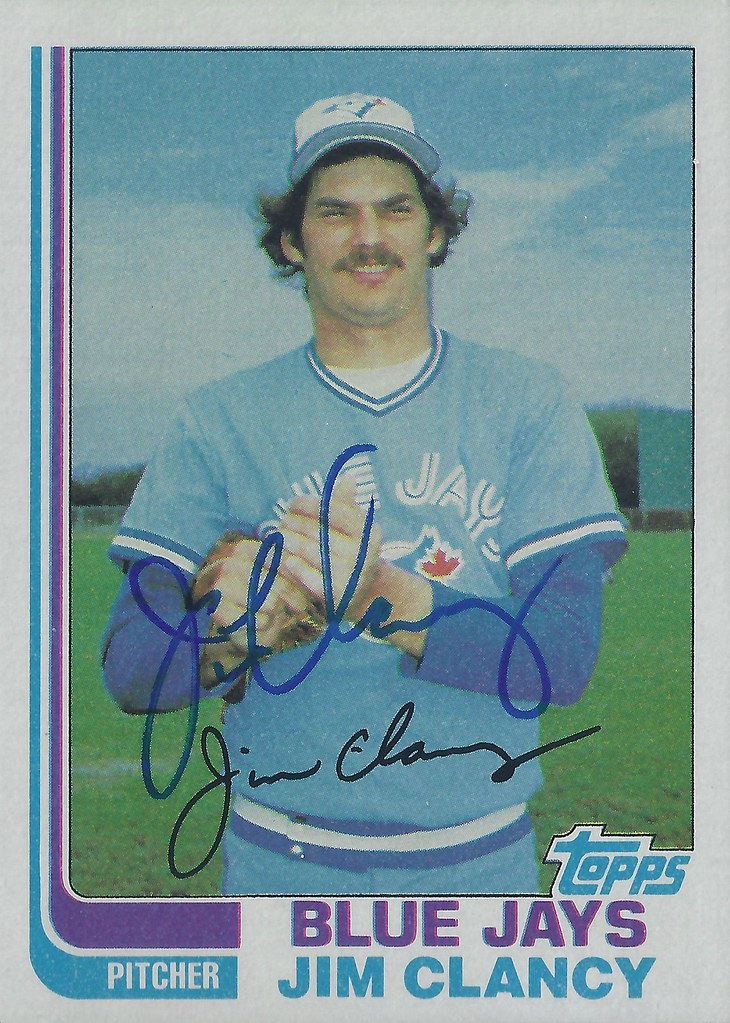 1982 Topps Jim Clancy 665 Pitcher Autographed Baseb Flickr