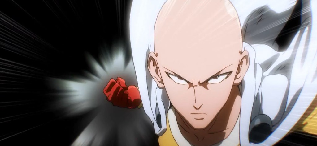 One-punch-man-action