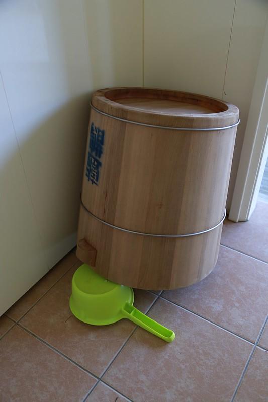 木桶和水勺