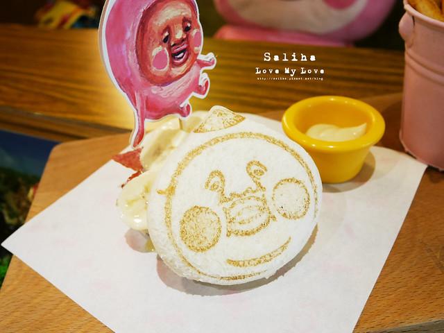 台北東區主題餐廳醜比頭的秘密花園輕食咖啡屁桃 (35)
