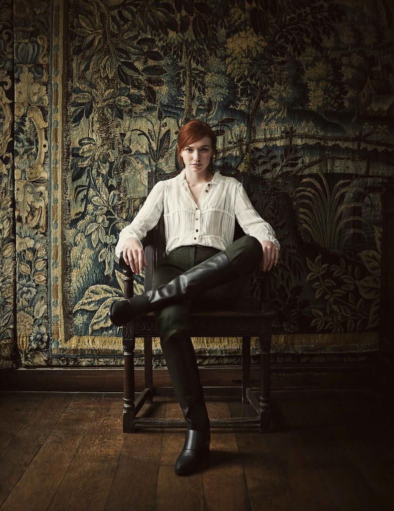 Элеонор Томлинсон — Фотосессия для «Vogue» UK 2016 – 1
