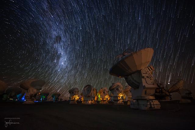 One last ALMA star trail image