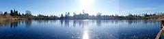 Frozen Larson Lake