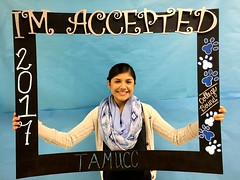 Congratulations to Alexis Martinez who got accepted to Texas A&M University-Corpus Christi in Corpus Christi, Texas! #CollegeBound #CollegeBoundBulldogs #Somerset2017