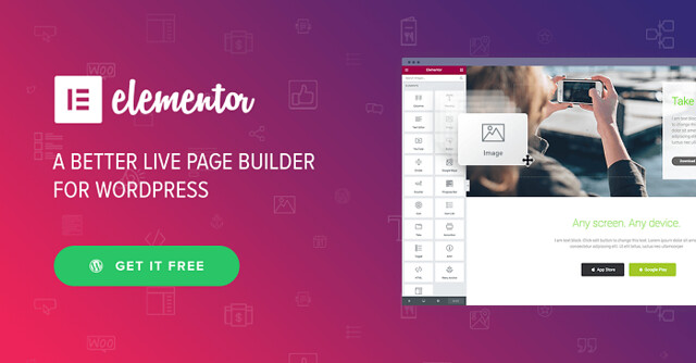 Elementor Pro v1.5.0 - Drag & Drop Live Page Builder For WordPress