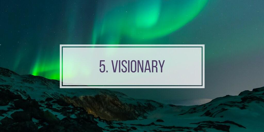 5. visionary
