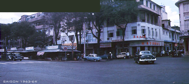 SAIGON 1963-64 - Photo by Jack 'CJ' Waer