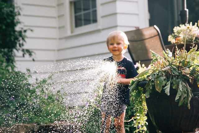 Will with hose at mimi papas-1