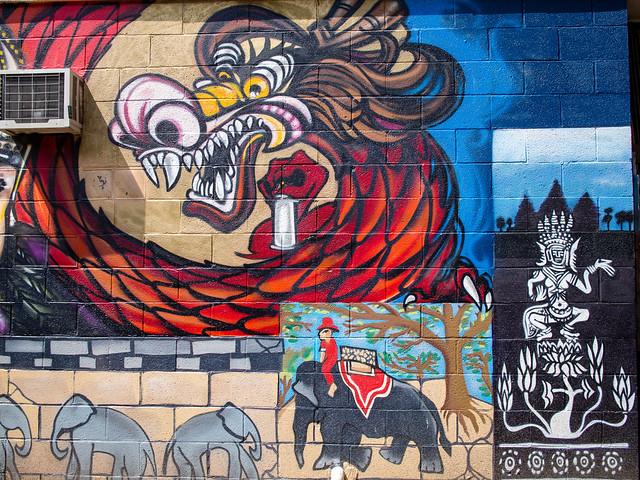 { Chicago street art }