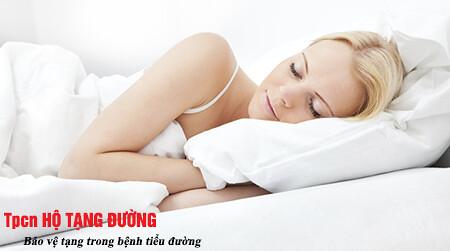 Ngủ đủ giấc giúp phòng ngừa sự phát triển của bệnh tiểu đường