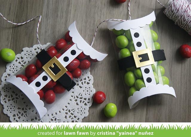 Santa's candy boxes