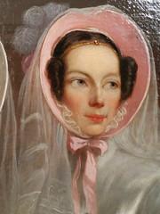 Detail van een schilderij