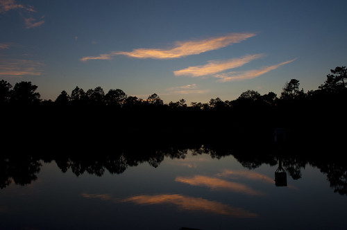 sunset sky usa water nikon wasser unitedstates florida military airforce usaf range reservation duckpond afb eglin okaloosacounty d5000 fisherbray