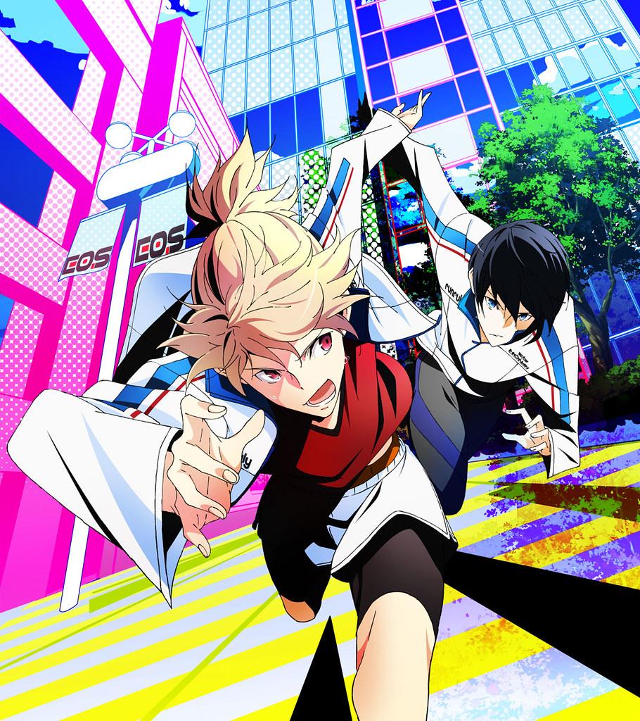 150907(2) - 高中生美男子的都市接力極限運動《疾走王子 Alternative》宣布2016年1月放送電視動畫!