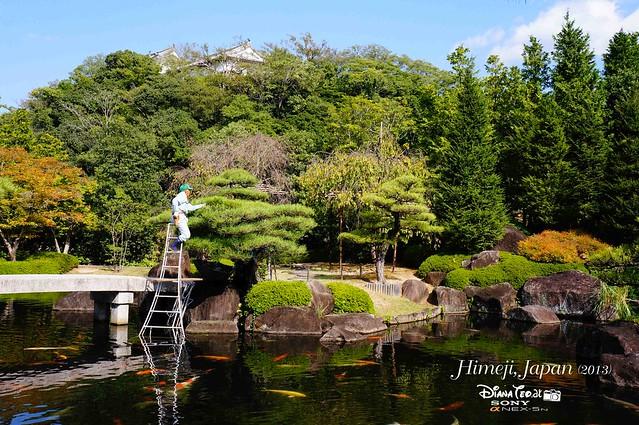Japan - Himeji Kokoen Garden