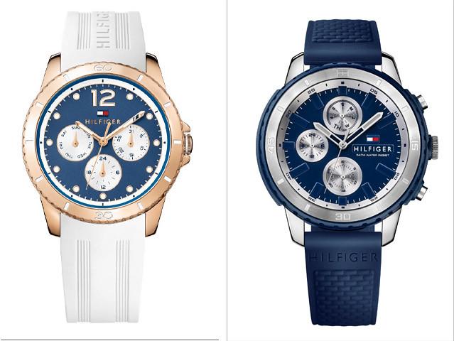 Tommy Hilfiger Watches, Tessa y Flyn