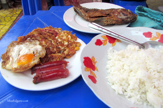 Myanmar Burmese Local Food