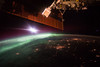 Morning Aurora From the Space Station