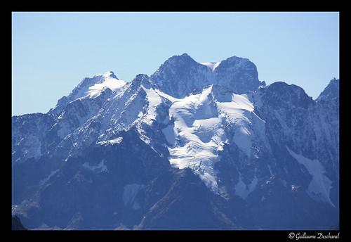 Les glaciers de nouveau recouverts de blanc