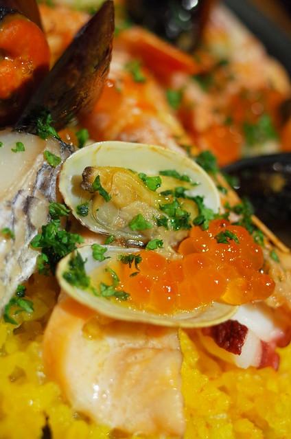 鮭殻荘のパエリア