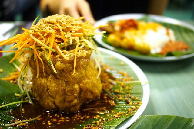 tauhu telor, Sinar Pagi Nasi Padang, 13 Circular Road, Singapore