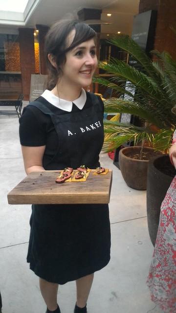 cute a baker waitress