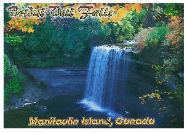 Ontario - Manitoulin - Bridal Weil Falls